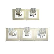 Modern Glass Cube Wall Light 2 / 3 Way G9 LED