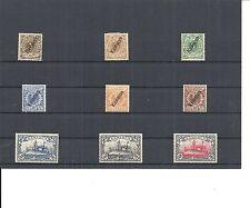 Kamerun, Deutsche Kolonien 1897, Einzelmarken aus MiNrn: 1 - 25,ungebraucht */**