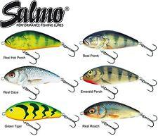 Salmo Fatso 10cm 52g Sinking - Jerkbait Wobbler zum Spinnfischen, Schleppköder