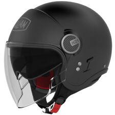 Nolan N21 Visor N-Com Open Face Motorcycle Helmet - Flat Black
