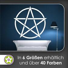 waf0815 - Pentagramm Wandtattoo KIWISTAR - Aufkleber