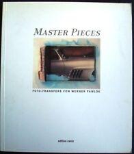 MASTER PIECES FOTO-TRANSFERS VON WERNER PAWLOK BUCHSTEINER ROLLI CAR BOOK