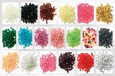 Craft Factory Round Plastic Pearl Beads - per pack (CF013530-M)