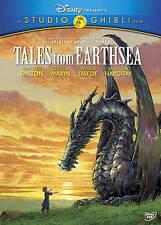 Disney's TALES FROM THE EARTHSEA 2011 Japanese Anime dvd GORO MIYAZAKI Mint Ln