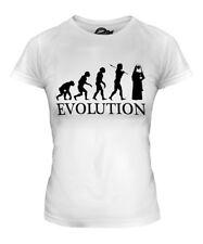 NUN EVOLUTION LADIES T-SHIRT TEE TOP GIFT CHRISTIAN COSTUME