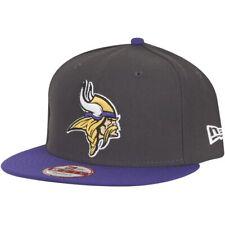 NEW Era 9 FIFTY Snapback Cap-NFL Minnesota Vikings GRAPHITE