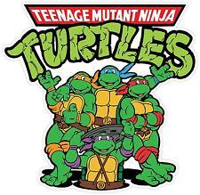Teenage Mutant Ninja Turtles Cartoon Vinyl Sticker Decal