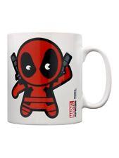 Deadpool Marvel Kawaii White Mug