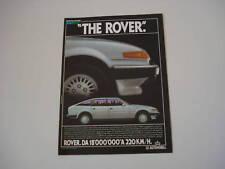 advertising Pubblicità 1984 AUSTIN ROVER