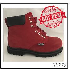 NEW LADIES SAFETY WORK BOOTS - STEEL CAP - 0495