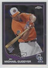 2013 Topps Chrome Update #MB-15 Michael Cuddyer Colorado Rockies Baseball Card