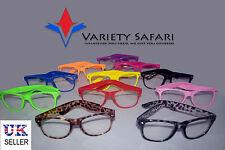Lente Transparente Moda Retro Grande Montura Estilo Nerd Brille Geek Funky Gafas