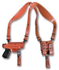 "Shoulder Holster Double Magazine Carrier fits, STI Edge 9/40/45 ACP 5""BBL #1363#"