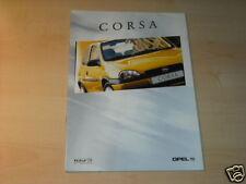 11492) Opel Corsa B Holland folleto 1998