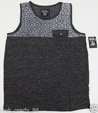 Tank Top T-shirt Sleeveless Vest w/Pocket 100%Cotton Adult S,M,L,XL MSRP$24 NWT