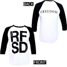 Authentic REFUSED RFSD Freedom Album Baseball Raglan T-Shirt S M L XL 2XL NEW