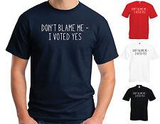 Non incolpare me, ho votato Sì Cotone T-Shirt-Scozia Indipendenza Scozzese