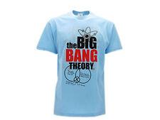 Camiseta The Big Bang Theory Logo Azul