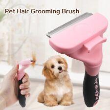 Deshedding Brush Dog Removes Hair & Cat Hair Shedding Tool Effective Grooming