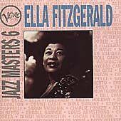 Verve Jazz Masters 6 by Ella Fitzgerald (CD, Mar-1994, Verve) Like New!