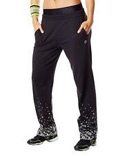 Zumba Fitness Tri-Me Jammin' Jersey Pants NWT - Sew Black (XS, S)
