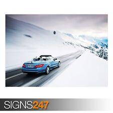 Mercedes Benz Clase E (AB298) cartel de auto-foto Poster Print Art A0 A1 A2 A3 A4