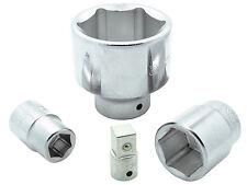 Stecknuss Schlüssel 3/4 + Adapter auf 1/2 Zoll 19 - 60 mm Sechskant Werkzeug Nuß