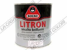 BOERO LITRON - TINTE CARTELLA - 750 ml - SMALTO OLEOSINTETICO LUCIDO PER ESTERNI