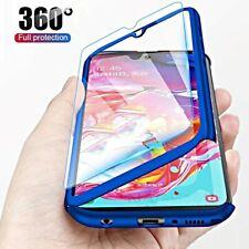 COVER per Samsung Galaxy A10 A20e A40 Custodia Fronte Retro 360° VETRO TEMPERATO