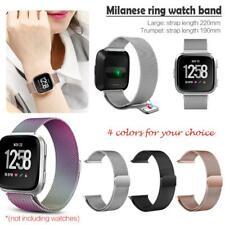 Milanese Loop Stainless Steel Watch Band Strap for Fitbit Versa / Lite Bracelet