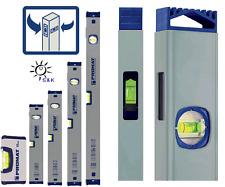 PROMAT Wasserwaage mit Spiegellibelle 10 - 200 cm Messgenauigkeit max. 0,5 mm/m