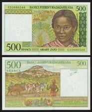 MADAGASCAR Billet 500 FRANCS ND (1994) P75 NEUF UNC