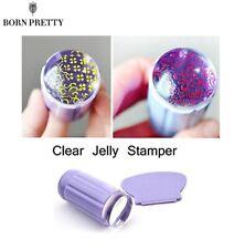 BORN PRETTY Nail Art Clear Stamper + Scraper Transfer Stamping Kit Manicure Set