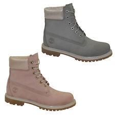 Timberland AF 6 pulgadas Premium Boots Waterproof Botas De Mujer Cordón Zapatos