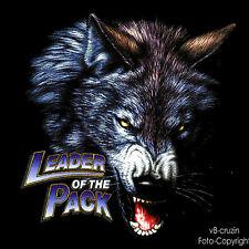 * Wolf Wildlife Biker Western Trucker t-shirt * 3034