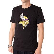 New Era Minnesota Vikingos Camiseta Camisa Para Hombres, color negro, 32363
