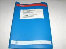 Werkstatthandbuch VW Polo 6N 4CV Einspritzanlage und Zündanlage Stand 10/1999