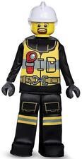Firefighter Prestige Lego Iconic Classic Fancy Dress Up Halloween Child Costume