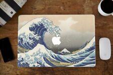 Stickers skin pour MacBook Pro Air - Vague Hokusai - Fabriqué en France