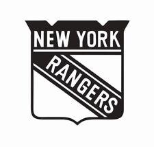 New York Rangers NHL Hockey Vinyl Die Cut Car Decal Sticker - FREE SHIPPING