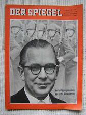 Der Spiegel 3/1963, Kai Uwe v. Hassel zum 48. Geburtst.