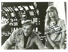 Kirk Douglas / Farrah Fawcett   Autograph , Original Hand Signed Photo