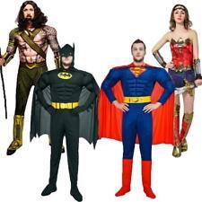 costumi carnevale supereroi completi vestiti adulti Superman Batman copia Mascot