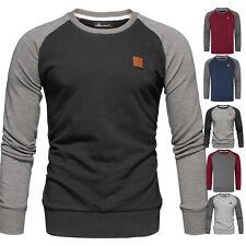 Herren Basic College Sweatjacke Pullover Hoodie Sweatshirt 4050