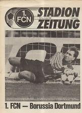 BL 91/92 1. FC Nürnberg - Borussia Dortmund (Stadionzeitung)