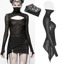 Top haut T-shirt gothique punk steampunk masque bijoux résille mitaines PunkRave