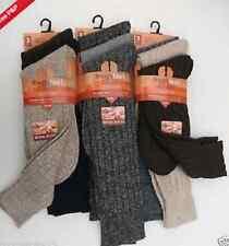 Men's Chunky  Wool Socks Very Hot Thick Heavy Duty Work Boot Socks,6-11 Hot Warm