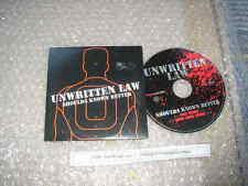 CD Pop Unwritten Law - Shoulda Known Better (2 Songs) Promo BODOG