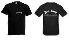 Herren T-Shirt Freiburg I Fussball I Verein I Sprüche I Fun I Lustig bis 5XL