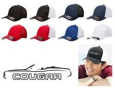 1971-73 Mercury Cougar Convertible Classic Color Outline Design Hat Cap